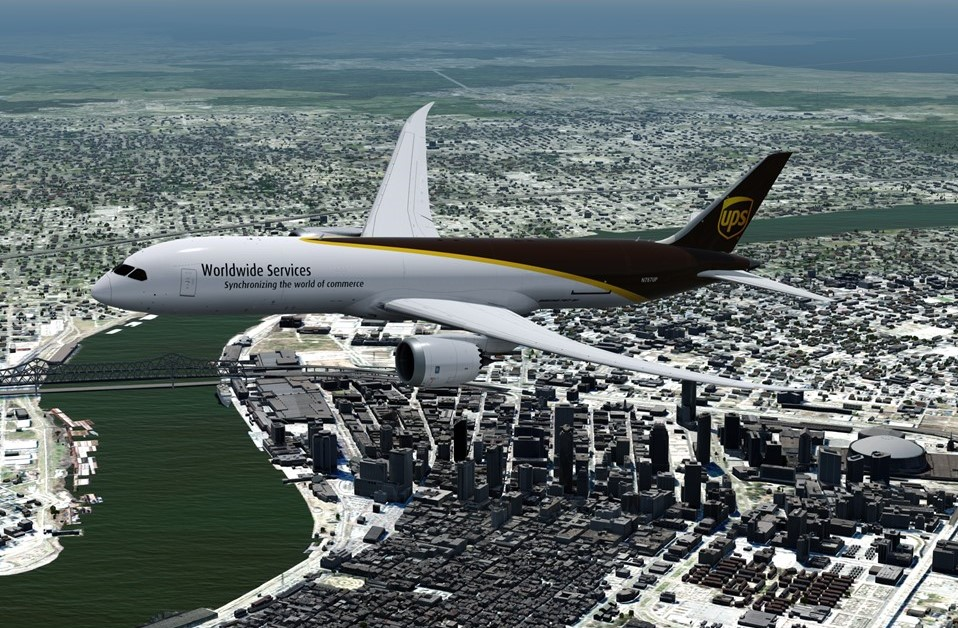 UPS 787-9F first try at repainting - QualityWings Simulations Forum
