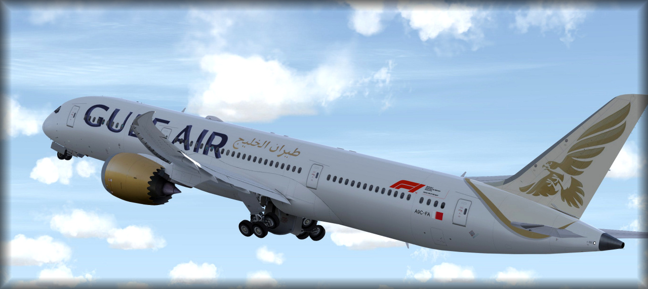 Gulf Air 787-9 released! - QualityWings Simulations Forum